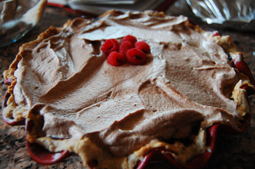 Raspberry Mousse Pie Recipes — Dishmaps