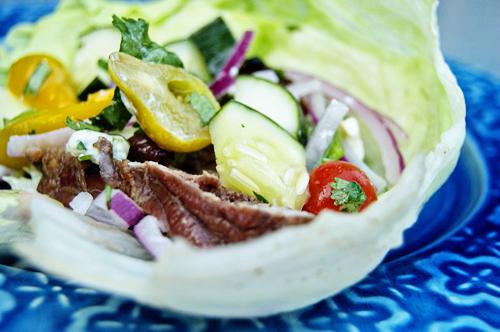 steak lettuce wrap 5