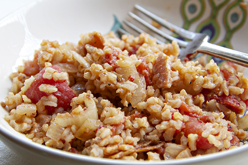 carolina red rice