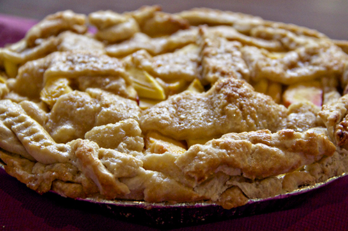 peach ginger pie 1