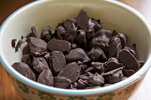 chocolate almonds 3