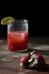 strawberry caipirinhas 1