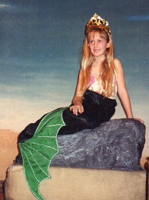 elena mermaid