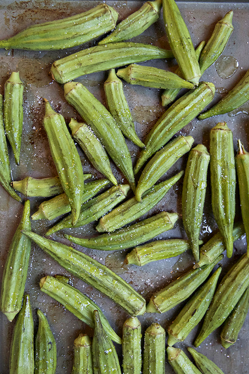 roasted okra 1