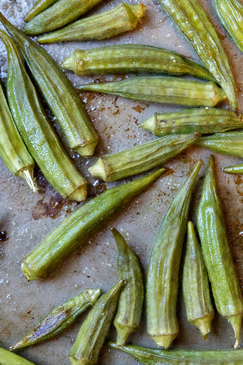 roasted okra 3