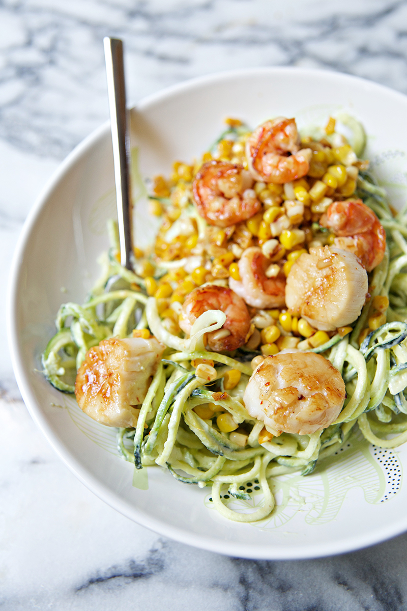 zucchini and shrimp 3