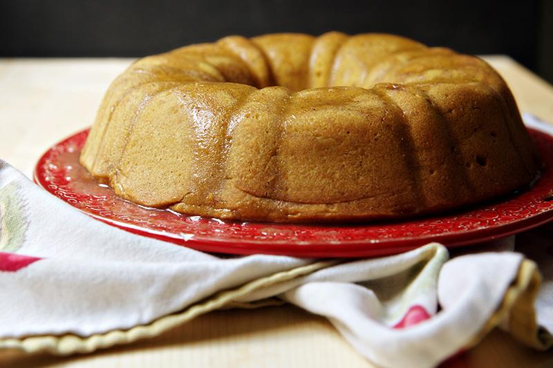 pumpkin pound cake 3