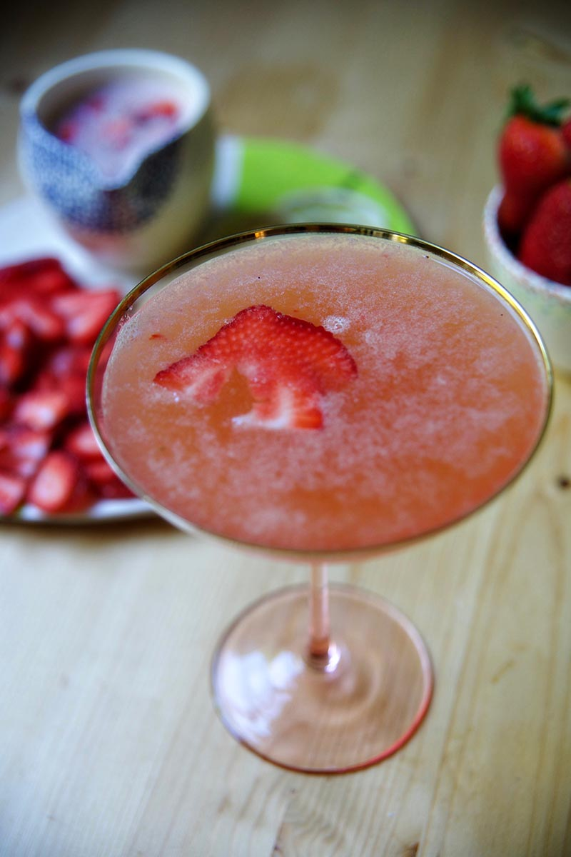 strawberry gin lemonade